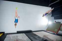 Competitive Trampoline Training Camp