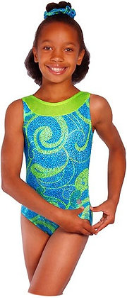 TAILSPIN LEOTARD (GREEN)