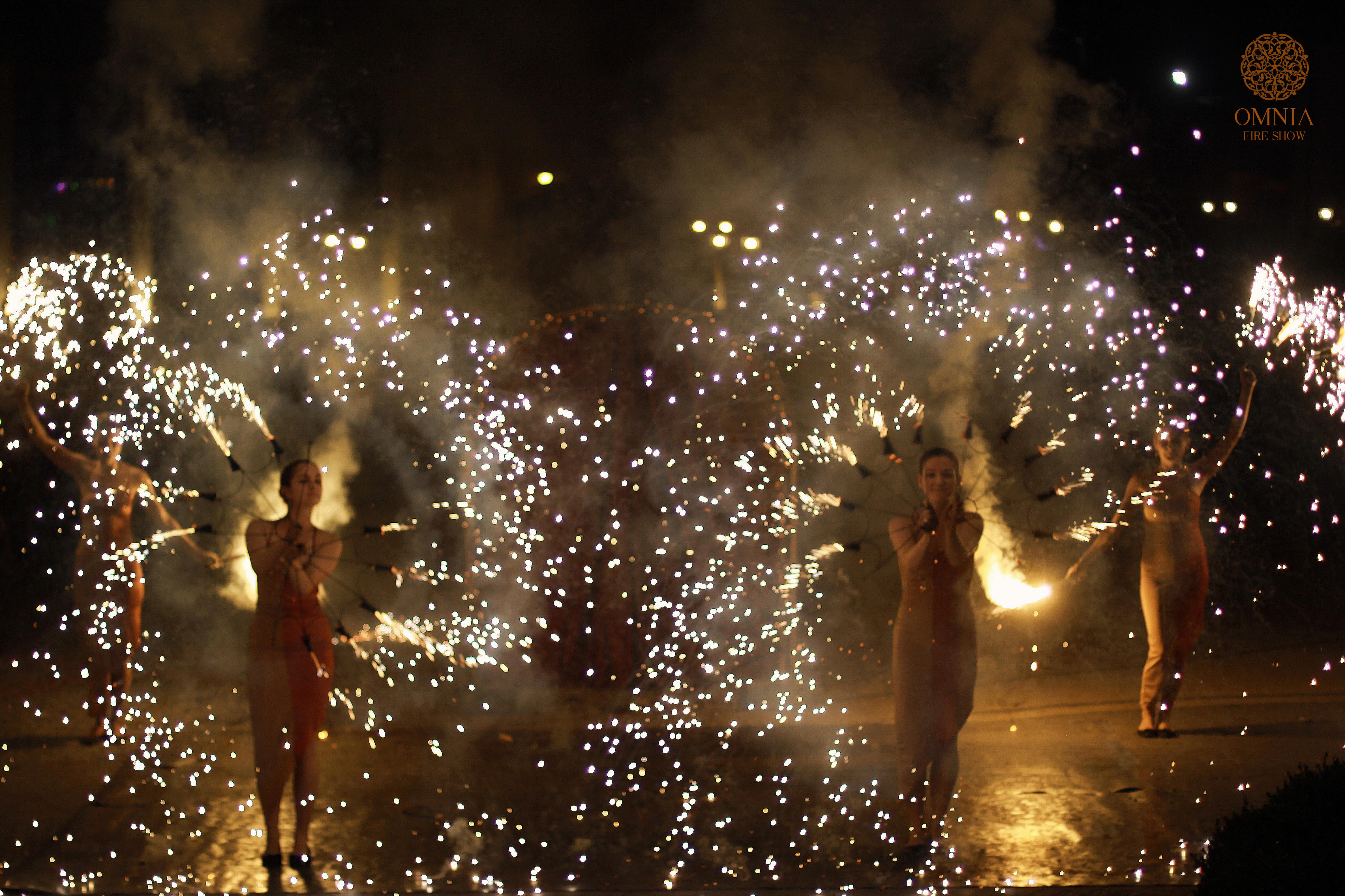 OMNIA fire show