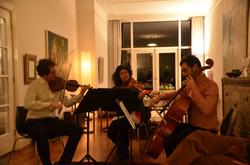 A cozy living Room concert