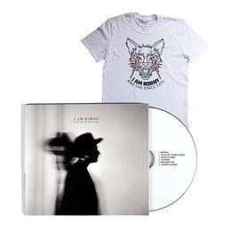I am Korny - Sleep Ain't Paying My Dues CD & T-Shirt Bundle