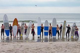 surfen lernen Surfschule Ringkobing Hvide Sande Dänemark Hvide Sande