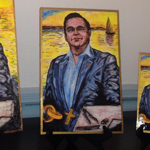 10x15 copy Memorial Portrait Wood Plaque