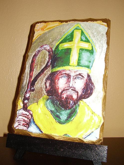 Saint Patrick Icon (color)