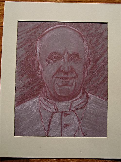 Pope Francis Print