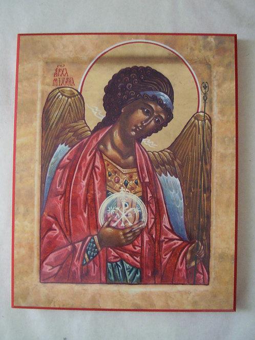 St Michael Plaque