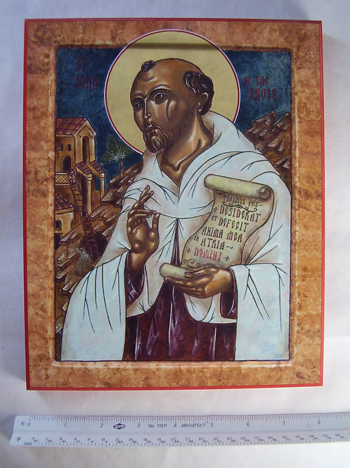 St John of the Cross Icon 12x16 Plaque