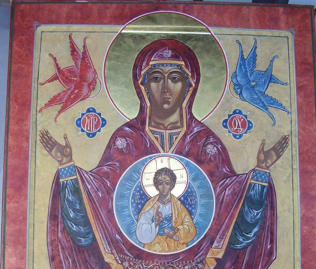 Our Lady of the Sign Icon Original_edite