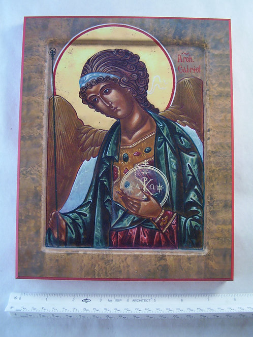 Archangel Gabriel Icon Plaque
