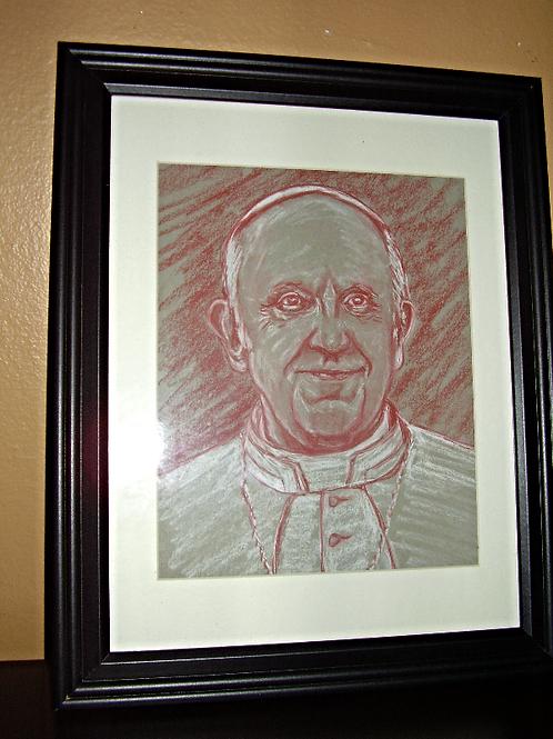 Pope Francis Portrait