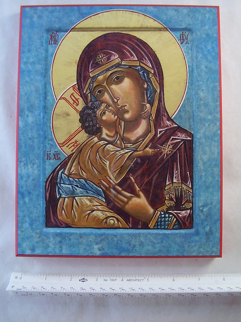 Our Lady of the Lake Icon Plaque
