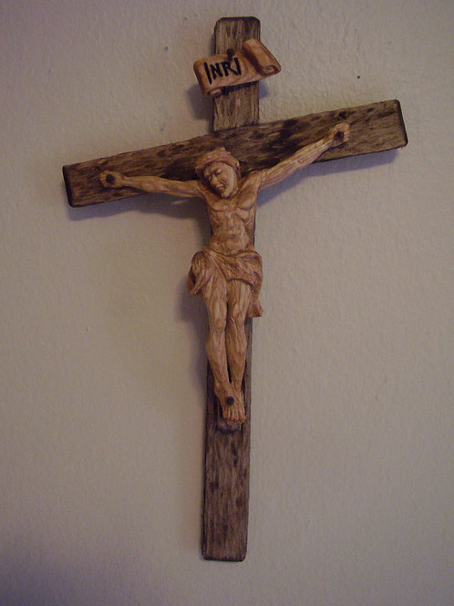 12 Inch Basswood Crucifix
