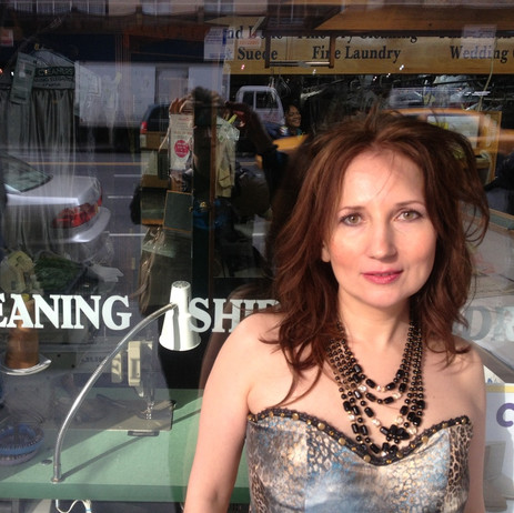 Is Elena advertising a dry cleaning service in NYC these days? :-)