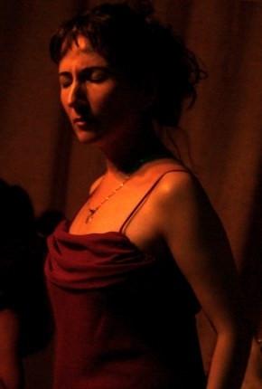 Elena is singing her award-winning C'era Una Volta II West