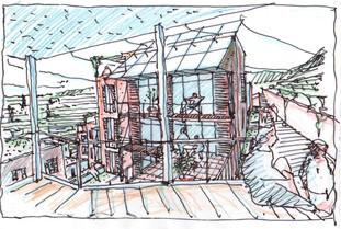 """Städtebauliche, ökologische Studie, """"Via"""