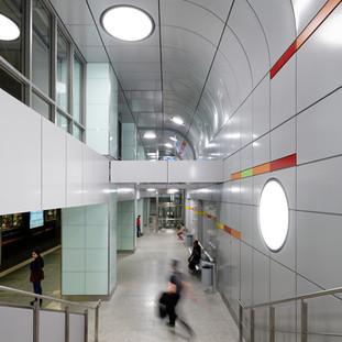 Neugestaltung der U-Bahn Haltestelle HBF