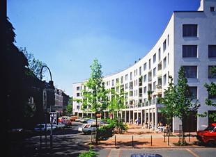 Wohnbebauung auf dem ehemaligen Stollwerck-Gelände