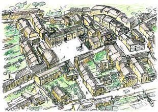 Masterplan Onna, Italien