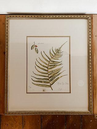 Vintage Leaf Painting 2