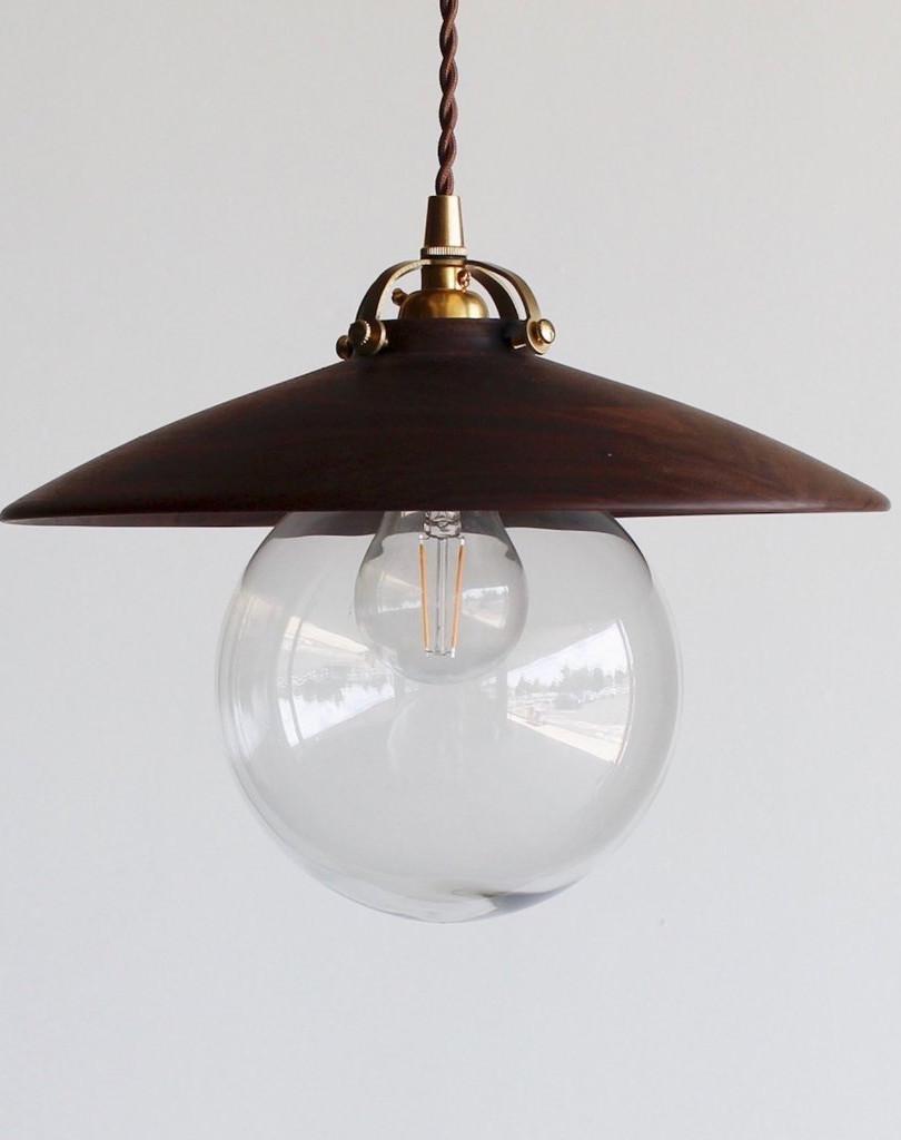 Shoppe Amber Interiors Walnut Edmund Light