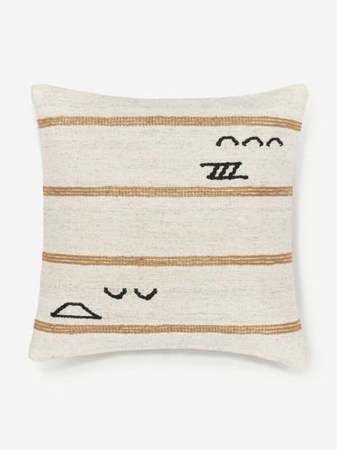 Lulu and Georgia Iconic Stripe Pillow