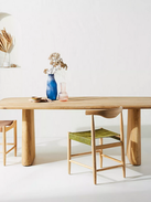 Kalle Sculptural Oak Dining Chair