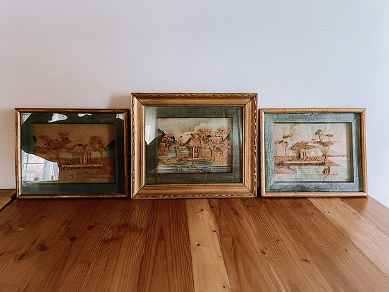 Set of 3 Japanese Art