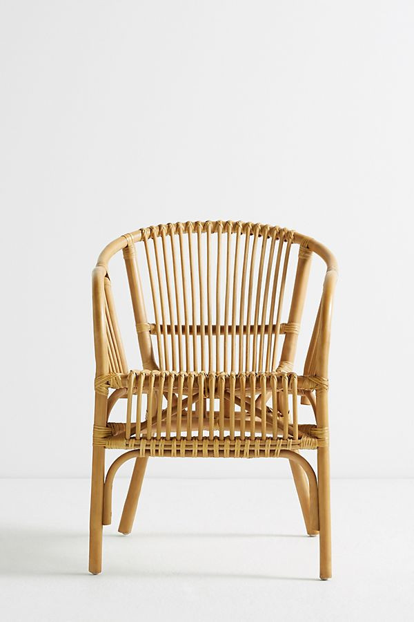 Anthropologie Pari Rattan Chair