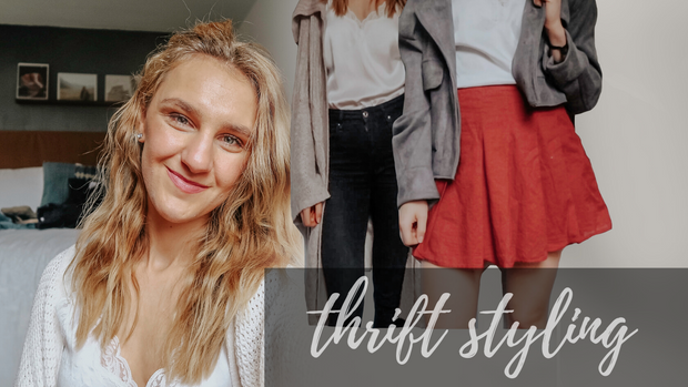 How to Style Vintage + Thrifted Clothes