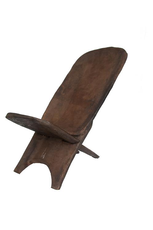Vintage Wood Lounge Chair