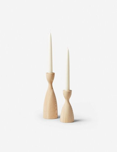 Farmhouse Pottery Pantry Candlestick