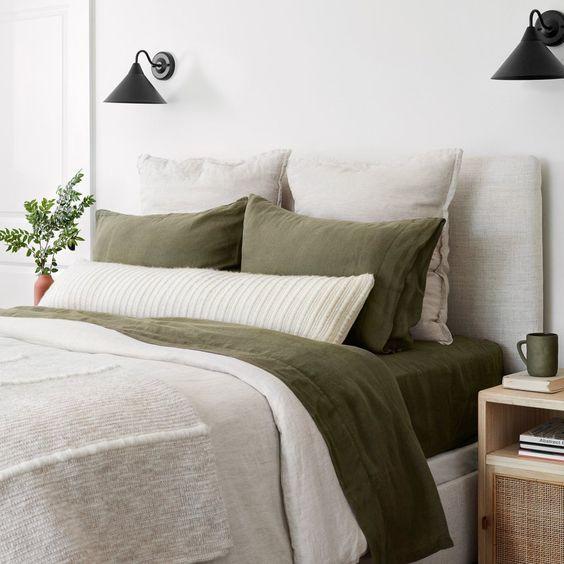 Arranging a Cozy Bed