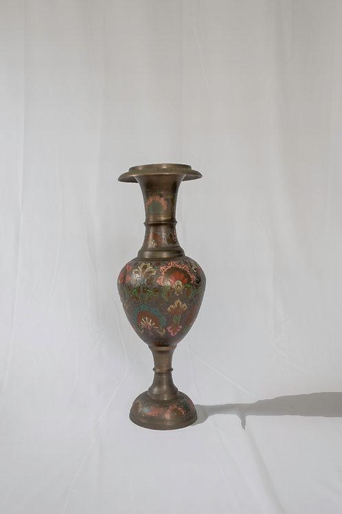 Vintage Painted Vase