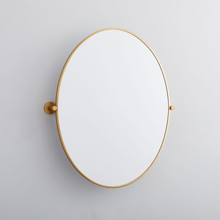West Elm Metal Frame Pivot Mirror