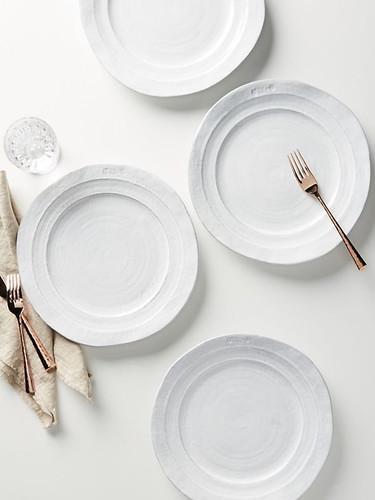 Anthropologie Gleena Dinner Plates