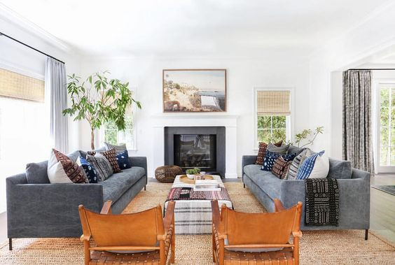 13 Examples of Organic Modern Living Rooms and How You Can Get the Look