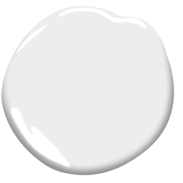 Swatch of BM Decorator's White paint