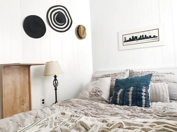 HOW I MADE MY 100 SQUARE FOOT BOSTON APARTMENT BEDROOM ACTUALLY WORK