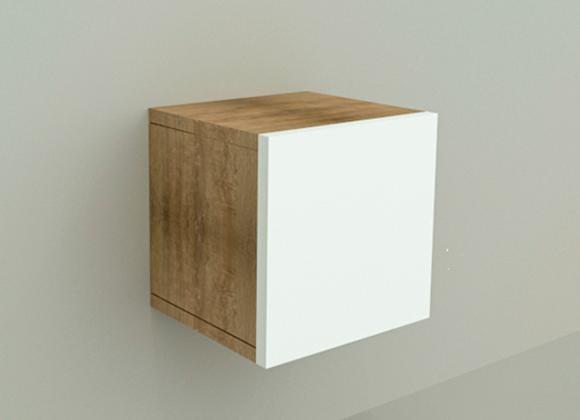 Cubo 30  Puerta Vienés Blanco -