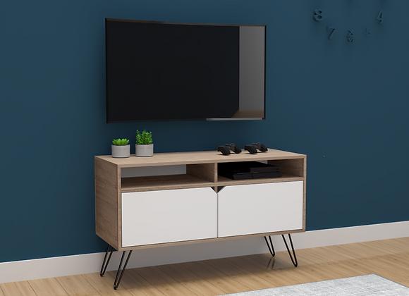 Mueble Multipropósito Nórdico Dúo TV 100cms puertas abatibles