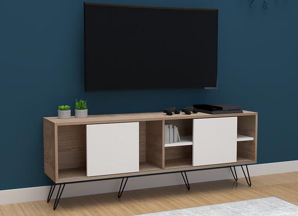 Mueble Multipropósito Nórdico TV 160cms puertas corredizas