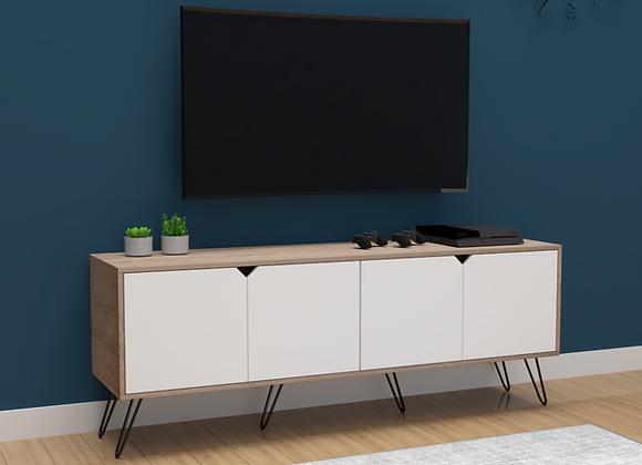 Mueble Multipropósito Nórdico TV 160cms puertas abatibles