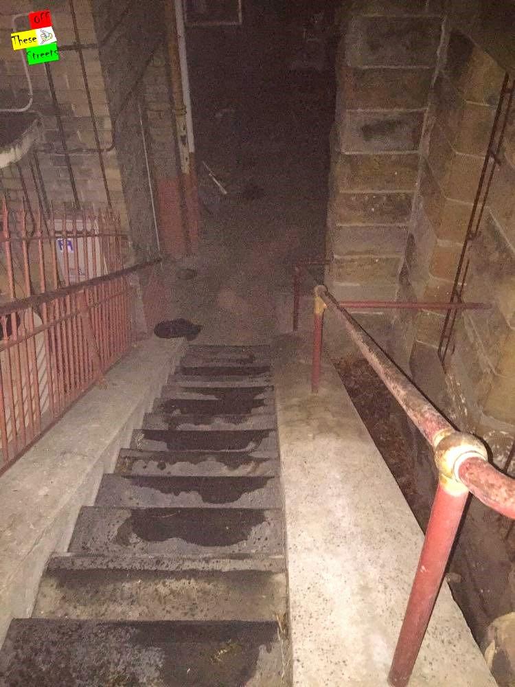 St Canice Steps