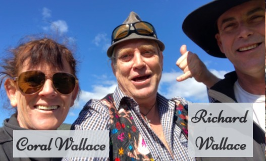 Coral and Richard Wallace