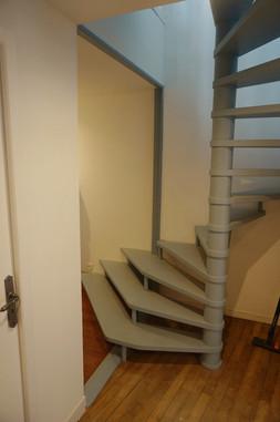 Création cloison chambre et marches escalier