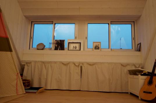 Pose fenêtres - raccord ardoise - bardage