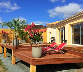 Terrasse et aménagement intérieur
