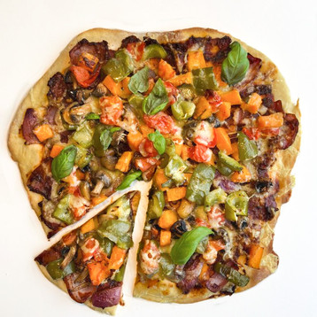 Rustic Veg Pizza