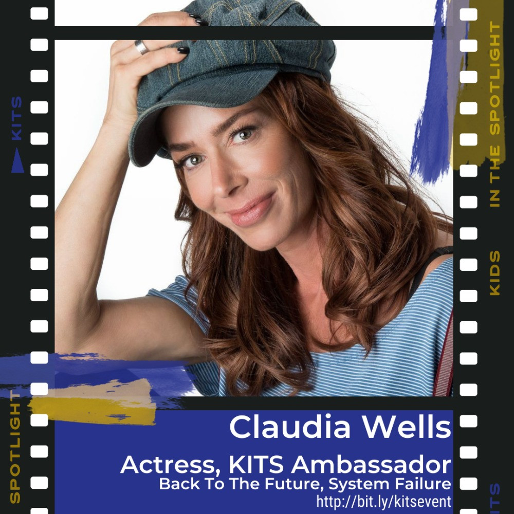 Claudia Wells, Actress & KITS Ambassador