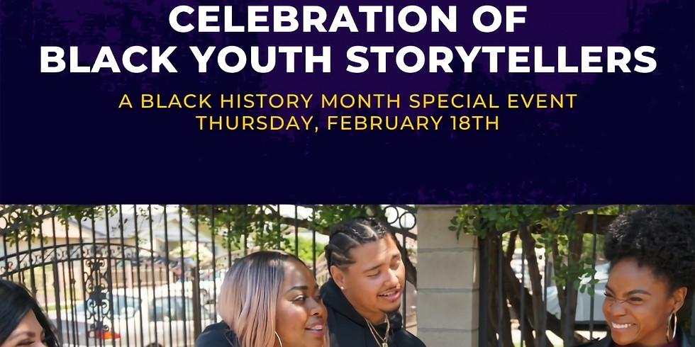 Celebration of Black Youth Storytellers